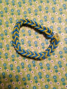 Fishtail-yellow and Blue