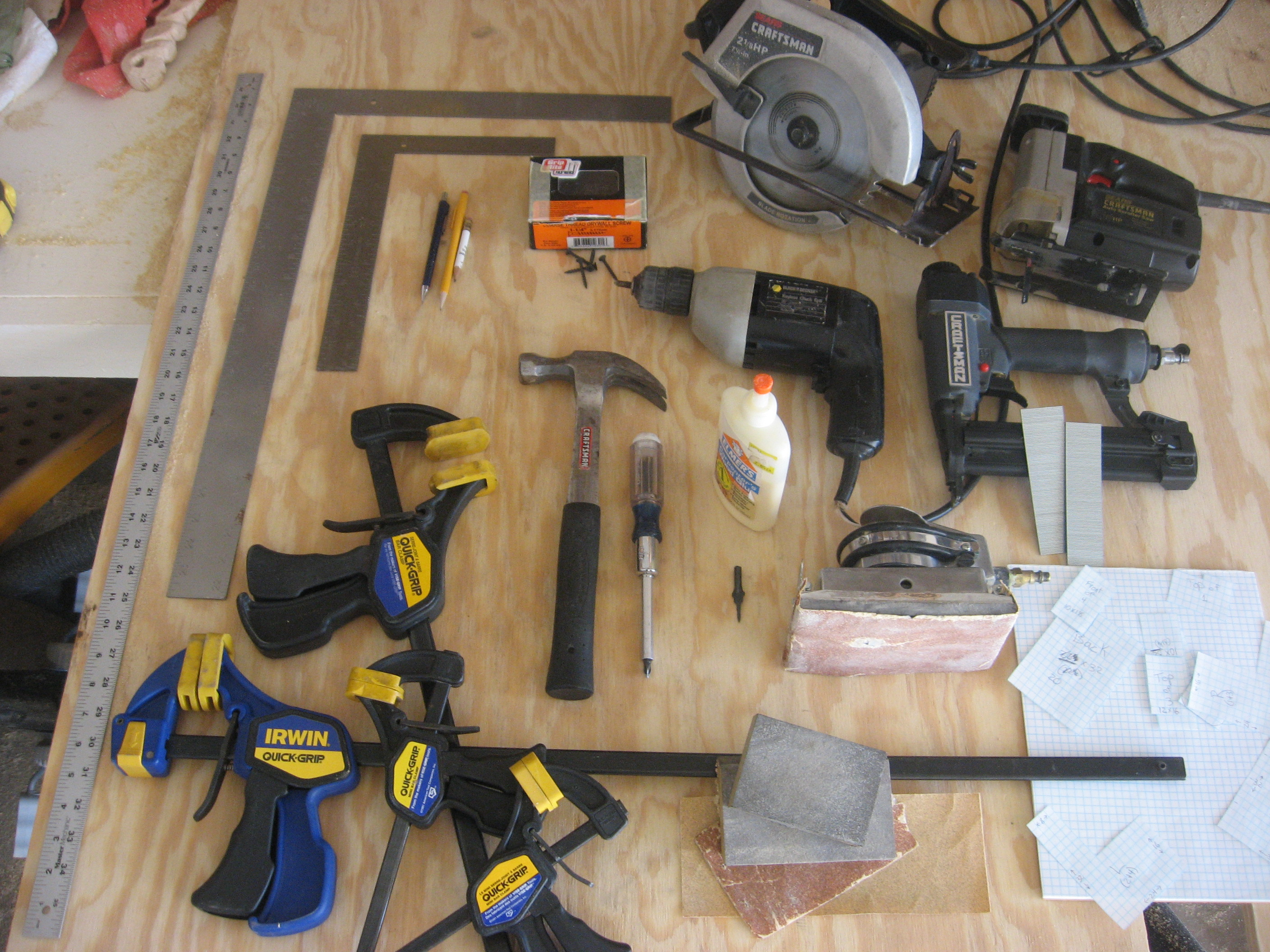 Picture of Tools and Materials