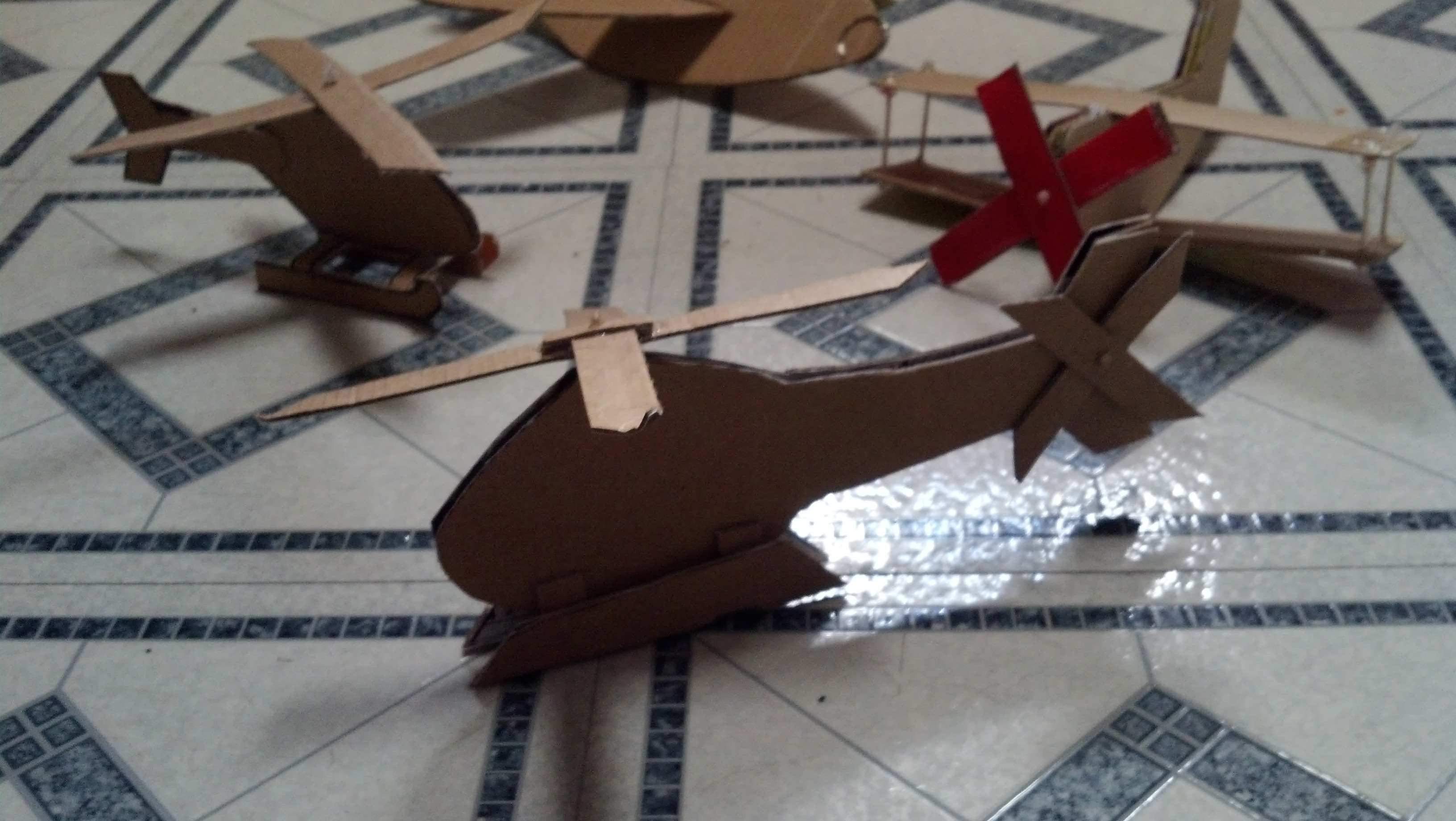 Picture of The It Rest of the Cardboard Air Force