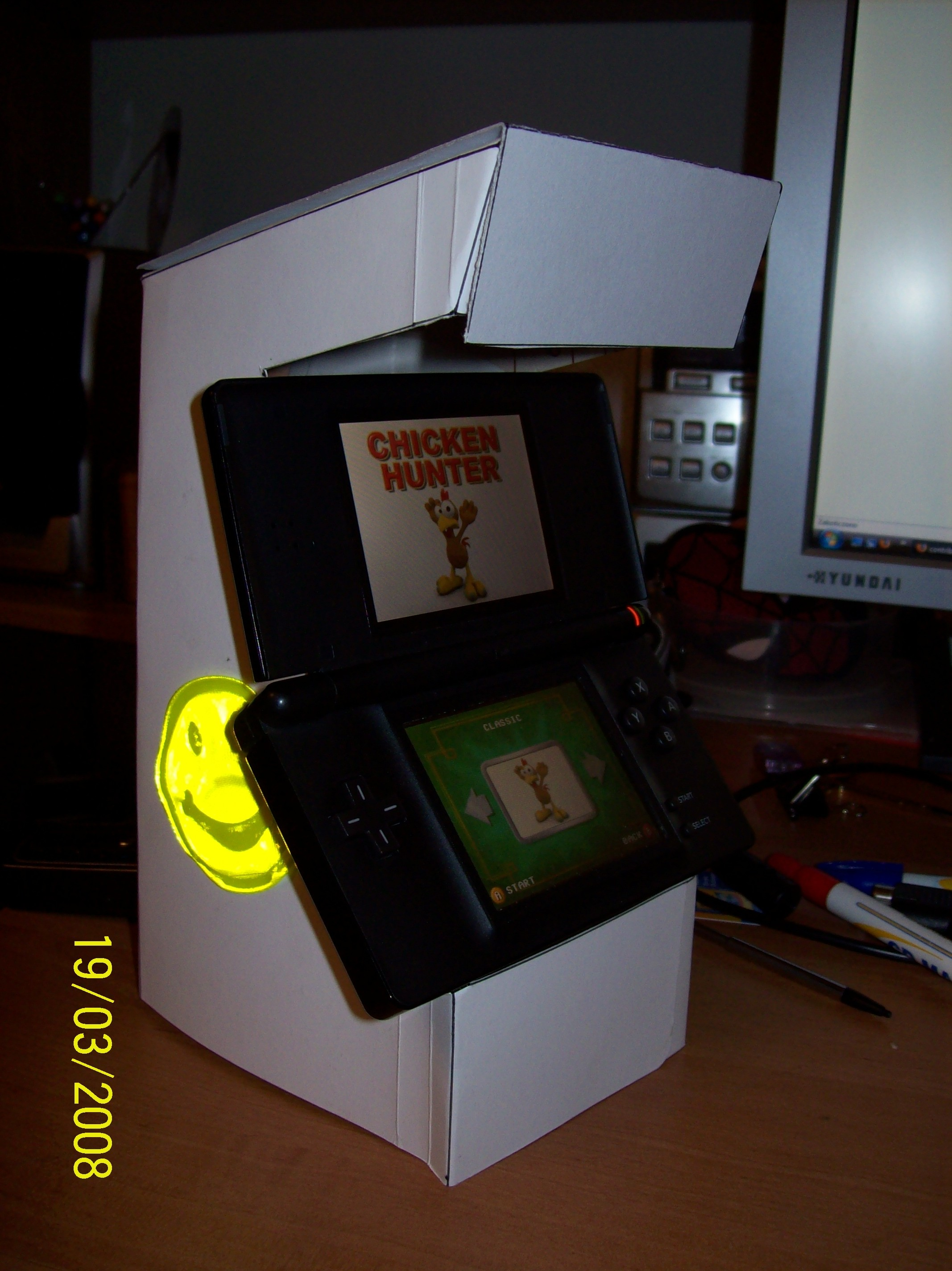 Picture of DS Cardboard Arcade Stand