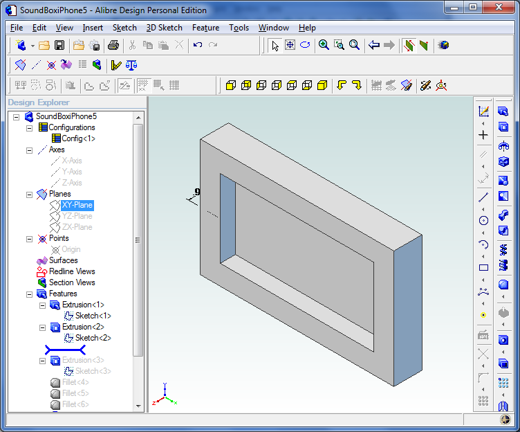 Picture of 3D Modelling Step 2