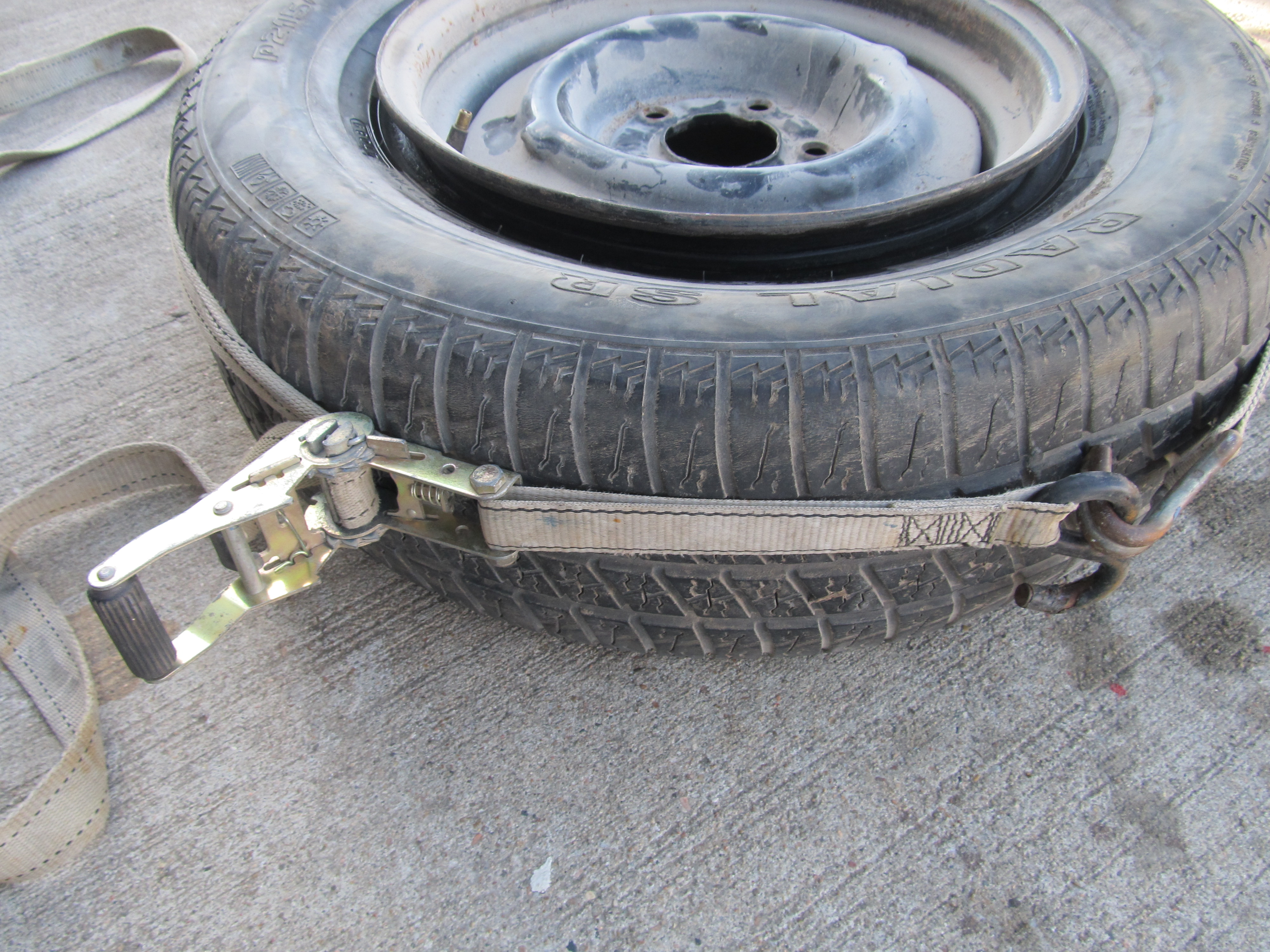 Picture of Air Up Tire.