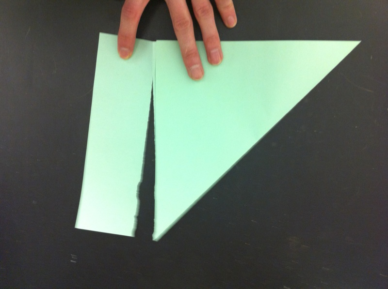Picture of Making a Perfect Square.