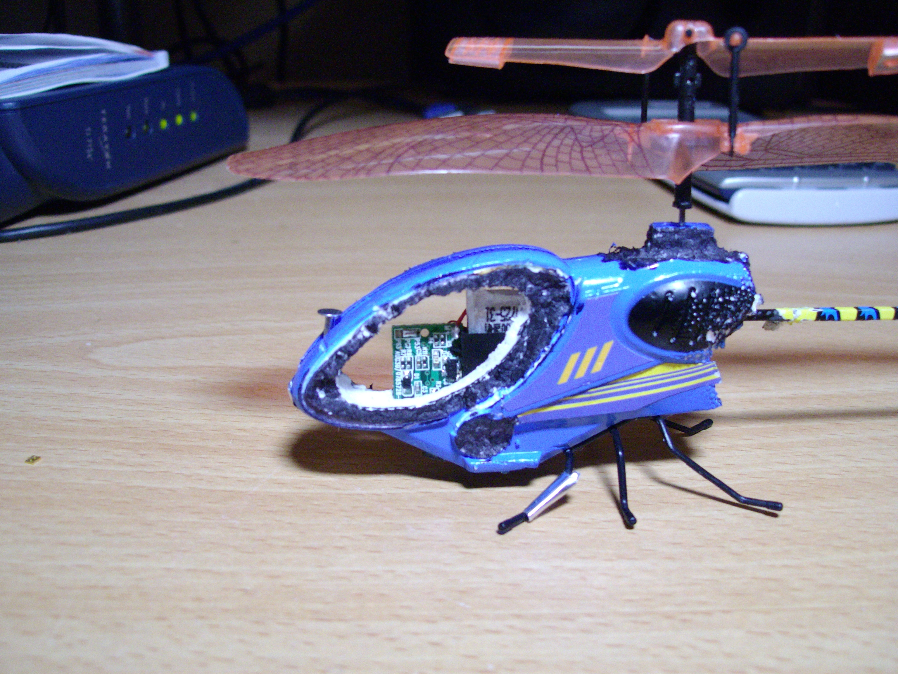 Picture of More Flight Time and Altitude From an Air Hog Helicopter.