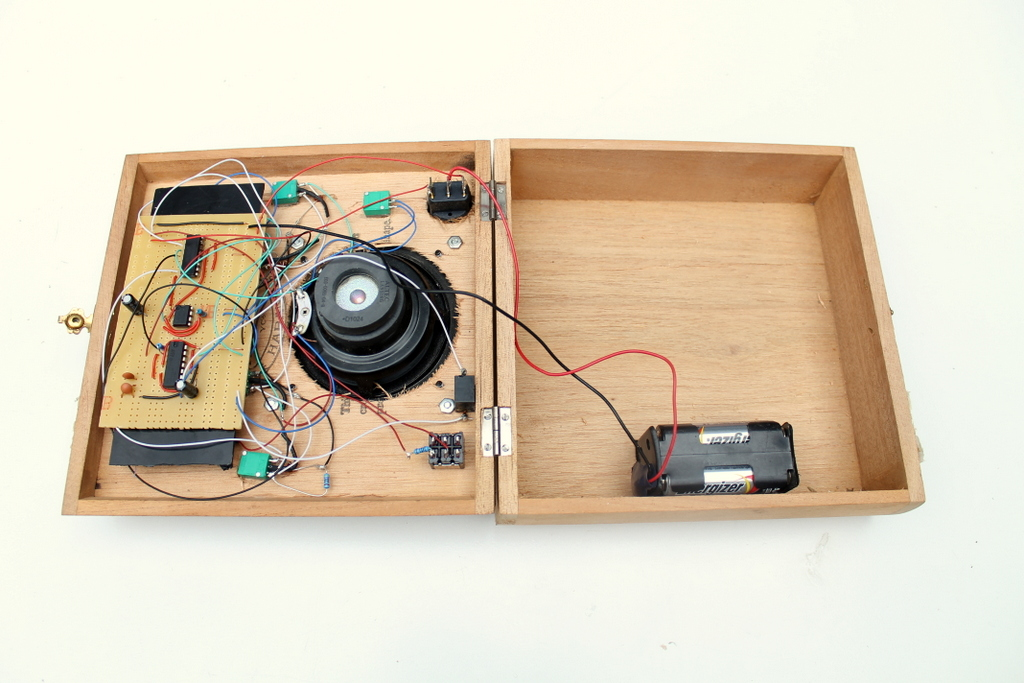 Picture of Cigar Box Synth