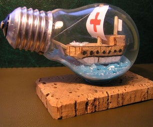 Recycle Old Light Bulb