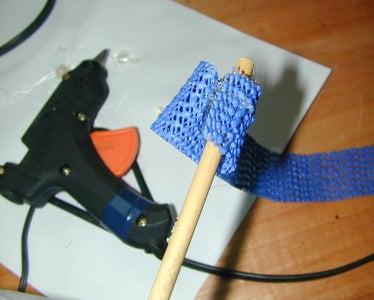 Wrapping the Anti-slip Strip Around the Stick