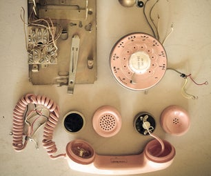How to Turn an Old-school Rotary Phone Into an Input Device.