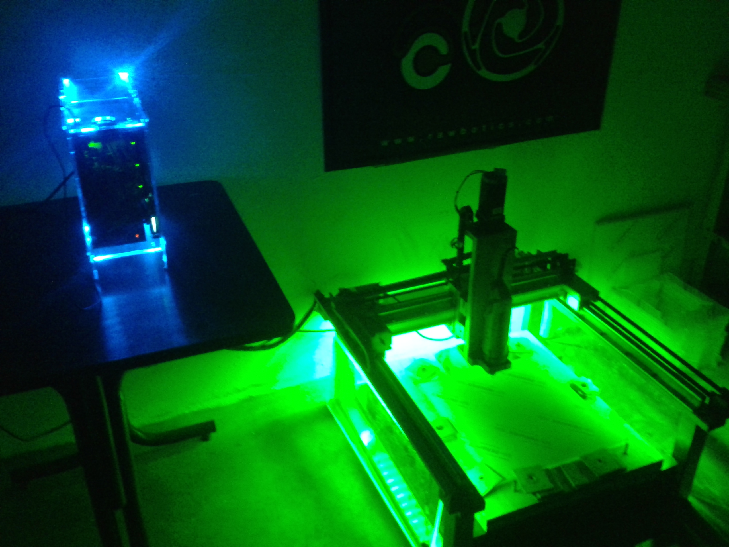 Picture of BuildersBot LED's