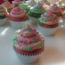 """Tie-Dye"" For Skinny Cupcakes"