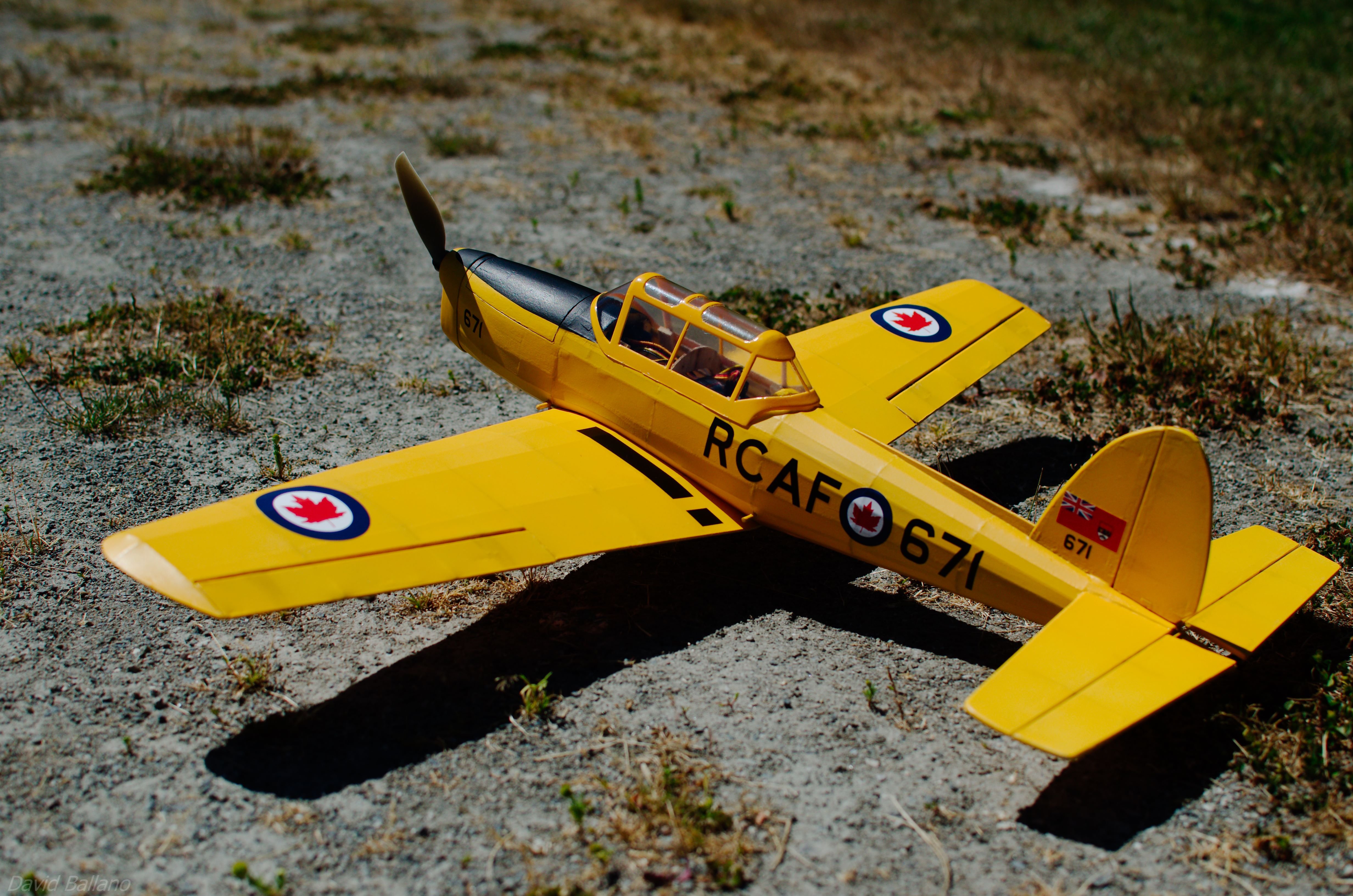 Picture of DHC-1 Chipmunk