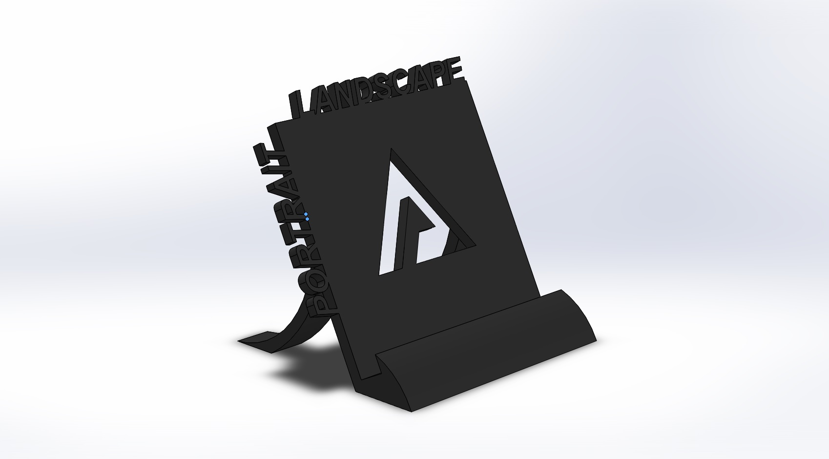 Picture of Designing, Modelling and 3D Printing a Cellphone Stand