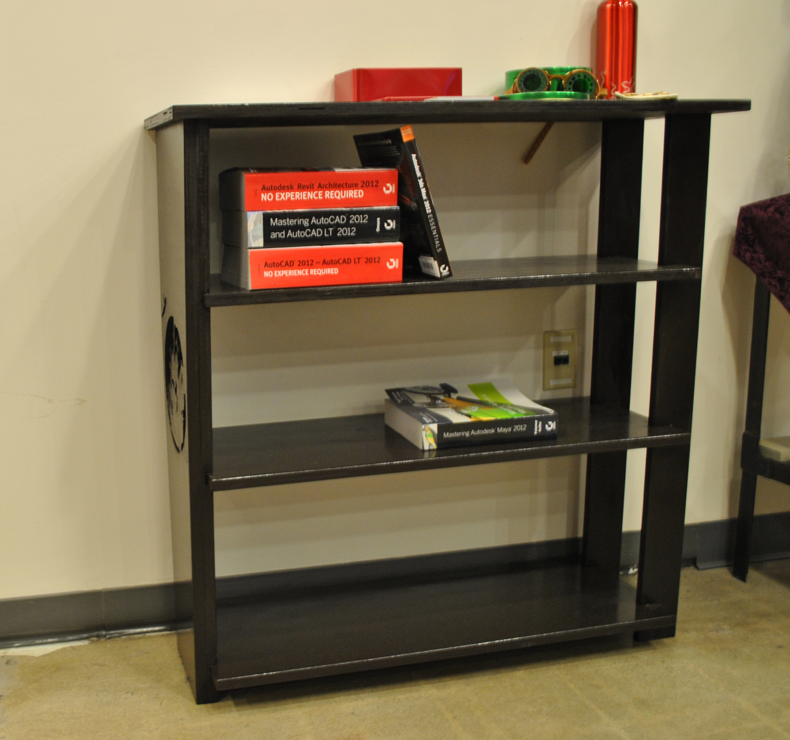 Picture of Simple Bookshelf From TechShop