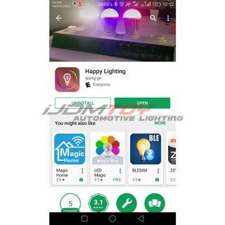 How To Setup Led Demon Eye W Smart Phone Bluetooth App 5 Steps Instructables