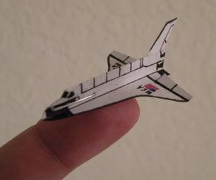 Mini Staple Space Shuttle