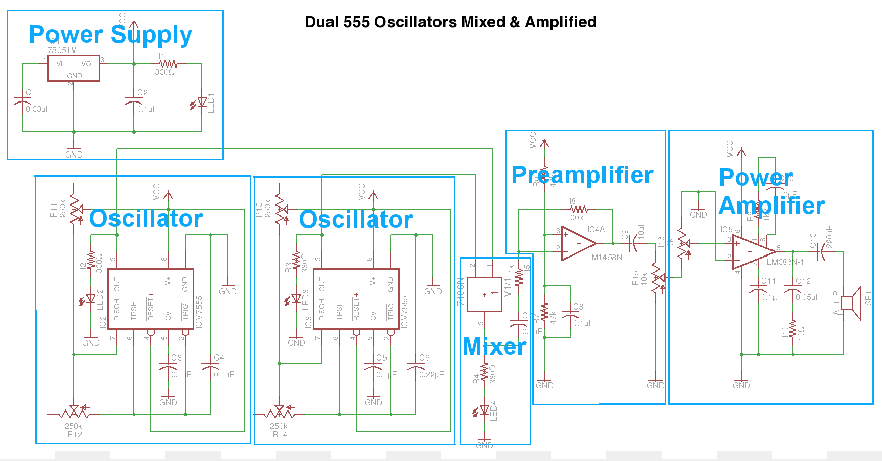 Picture of Schematic Blocked Out