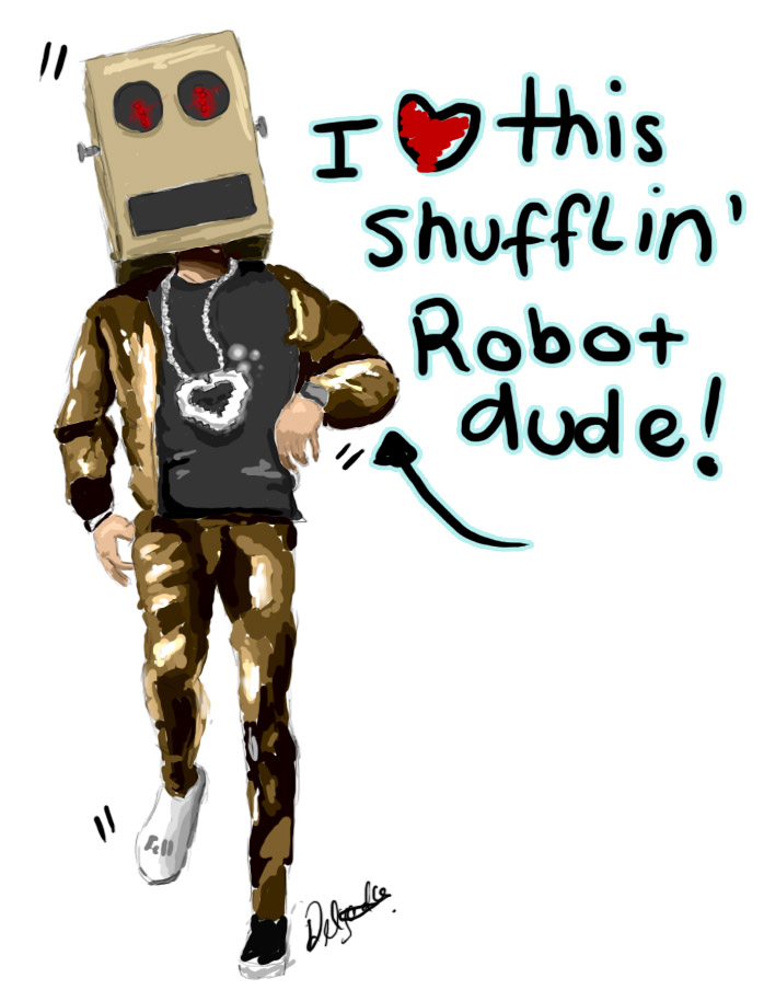 Picture of Shuffling!