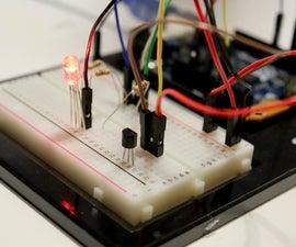 RGB LED Temperature Indicator
