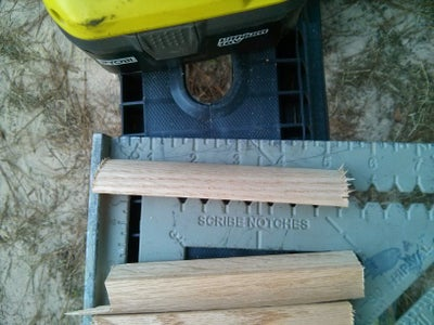 Mark Off Your Steps and Install Quarter Round Supports