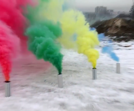 Make Different Colored Smoke Bombs