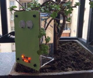 Interactive Plant Mood Detector
