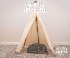 Cat Tipi / Teepee