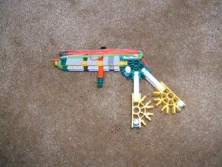 Very Powerful Knex Hand Gun.