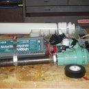 Safe pressure cannon