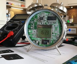 Weather Forecast Clock Using Old Alarm and Arduino
