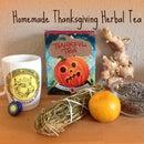 Homemade Thanksgiving Tea Gift