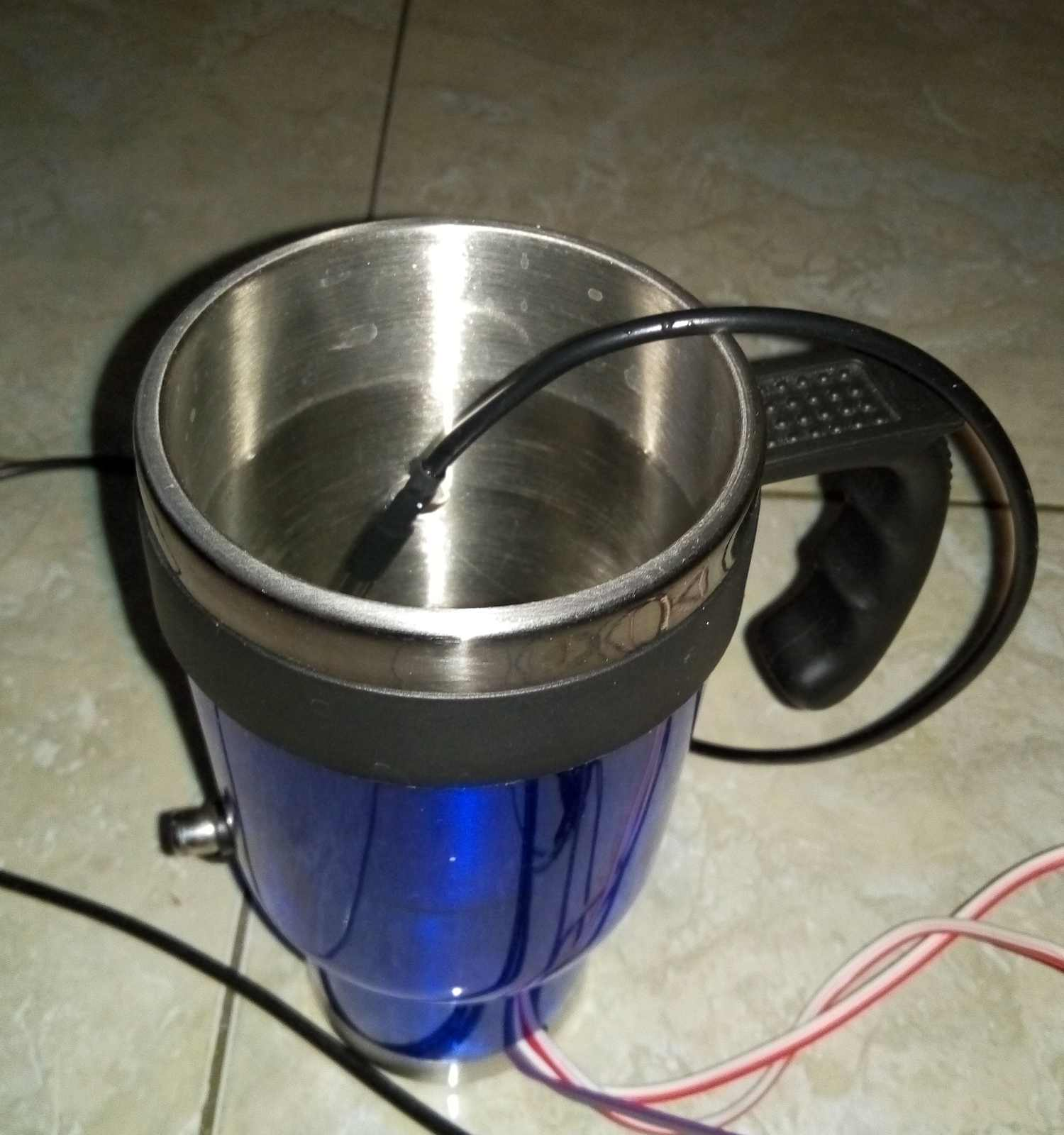 Picture of DIY Bluetooth Controllable Mug Warmer