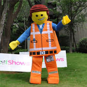 Emmet Lego Figure Costume From LEGO MOVIE