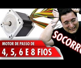 4, 5, 6, and 8-wire Stepper Motors