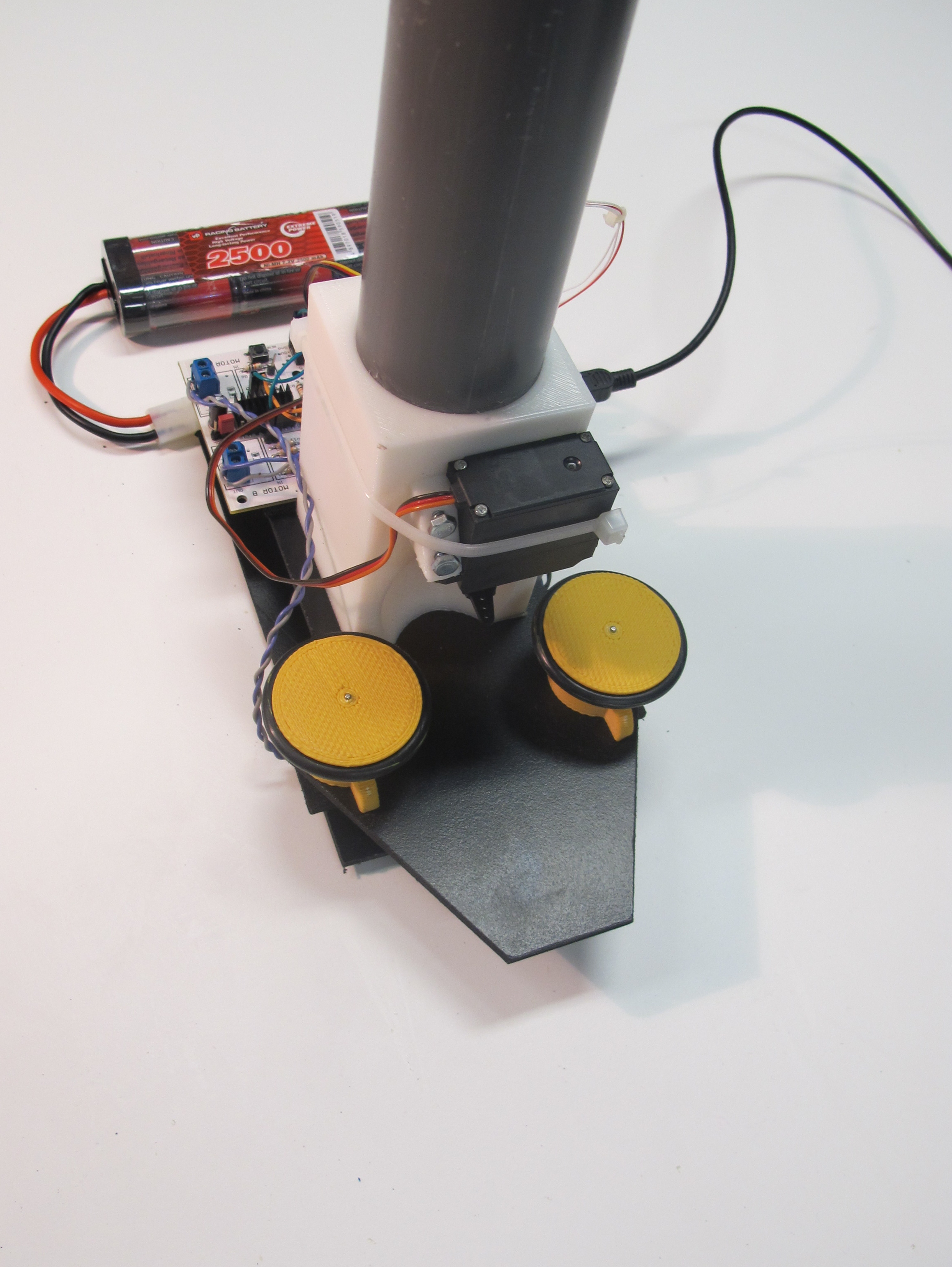 Picture of Arduino Controlled Ping Pong Balls Launcher