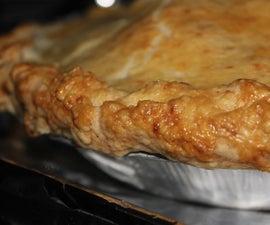 Tart Apple Pie with Gruyere Crust