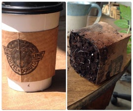 Coffee Sleeve bio degradable starter pots
