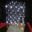 3D LED Charlieplex Cube from Chrismas Tree Lights