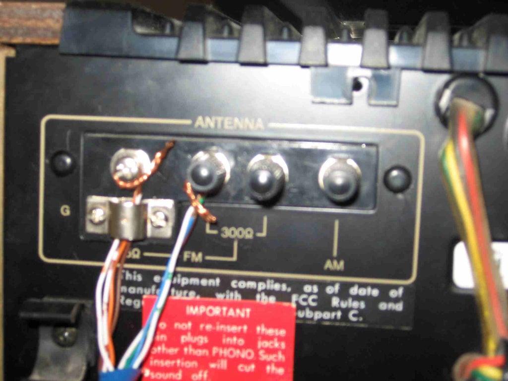 Fm Antenna Over Ethernet 3 Steps Instructables