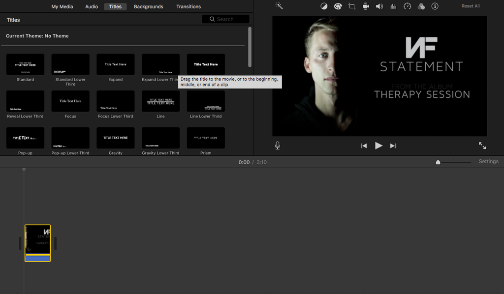 How To Lyric Video Using Imovie 5 Steps Instructables