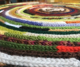 How to French Knit a Rug