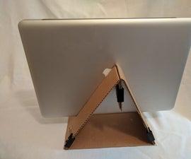 Cardboard Laptop Dock