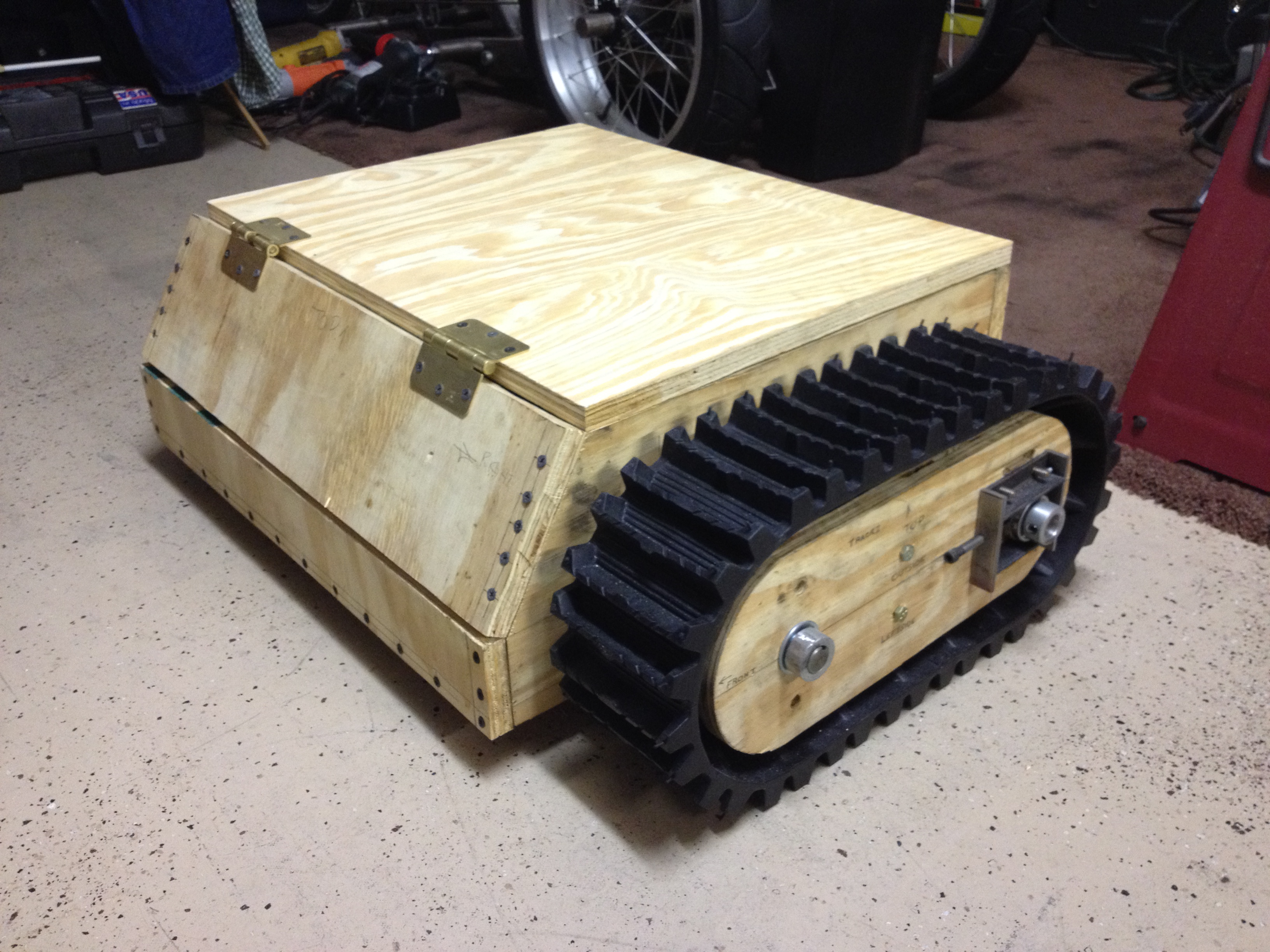 Picture of Chassis Build