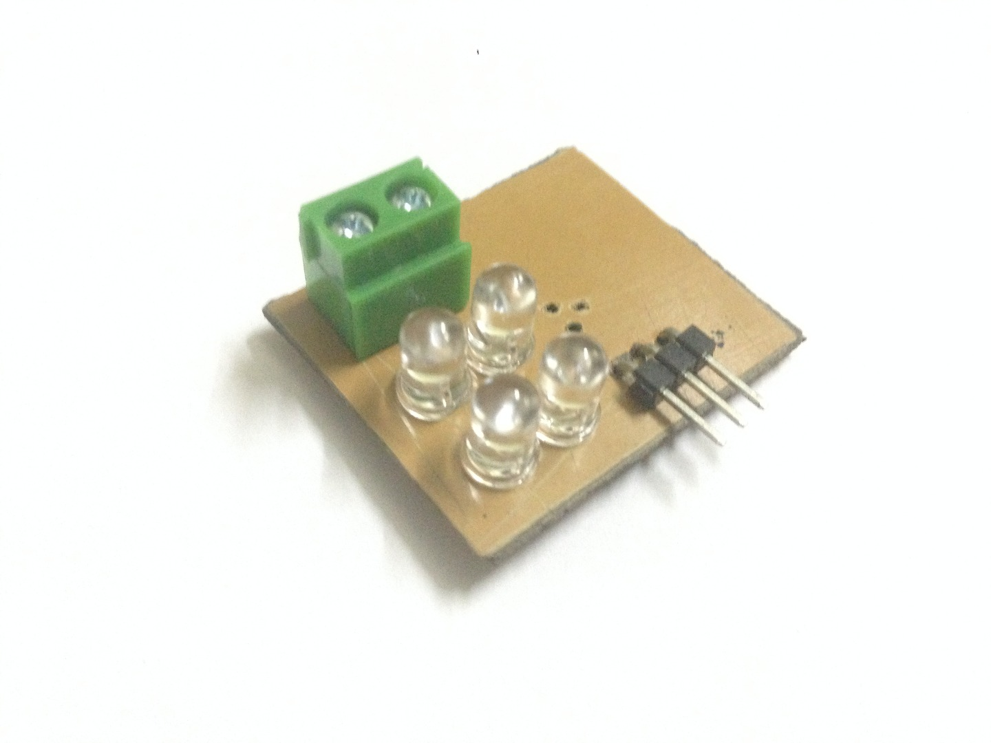 Picture of Solder Leds.