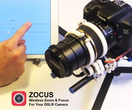 Zocus - Wireless Zoom & Focus for Your DSLR Camera