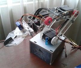 ROBOTIC ARM Arduino Controlled