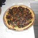 Mushroom Spinach Ricotta Pie