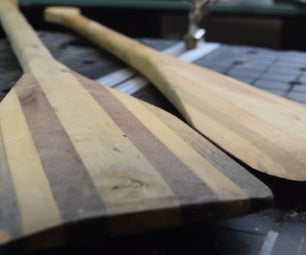 Boat Paddles From Scrap Wood