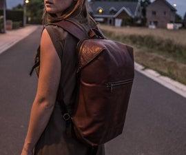 Leather Modern Backpack
