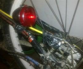 Braking activated Rear Bike light
