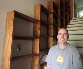 Stairway Bookshelves